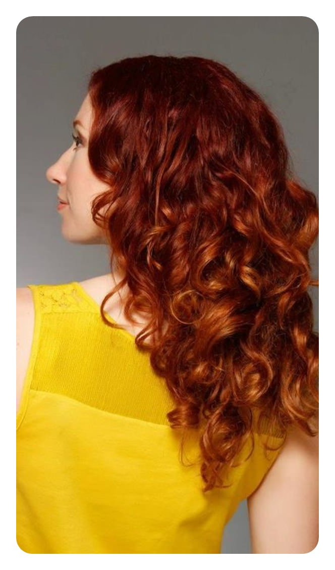 Well Liked Red Highlights For Type 3c Hairstyles Intended For 80 Stunning Red Hair With Highlights You Can Try Now (View 9 of 20)