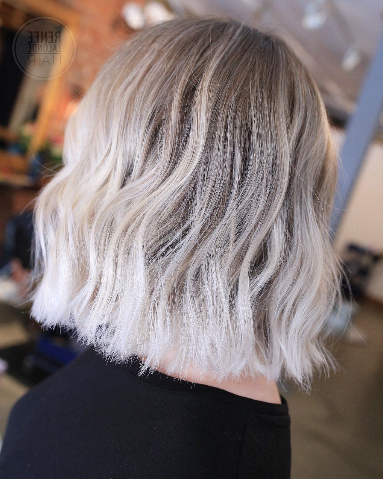 White Blonde Hair (View 18 of 20)
