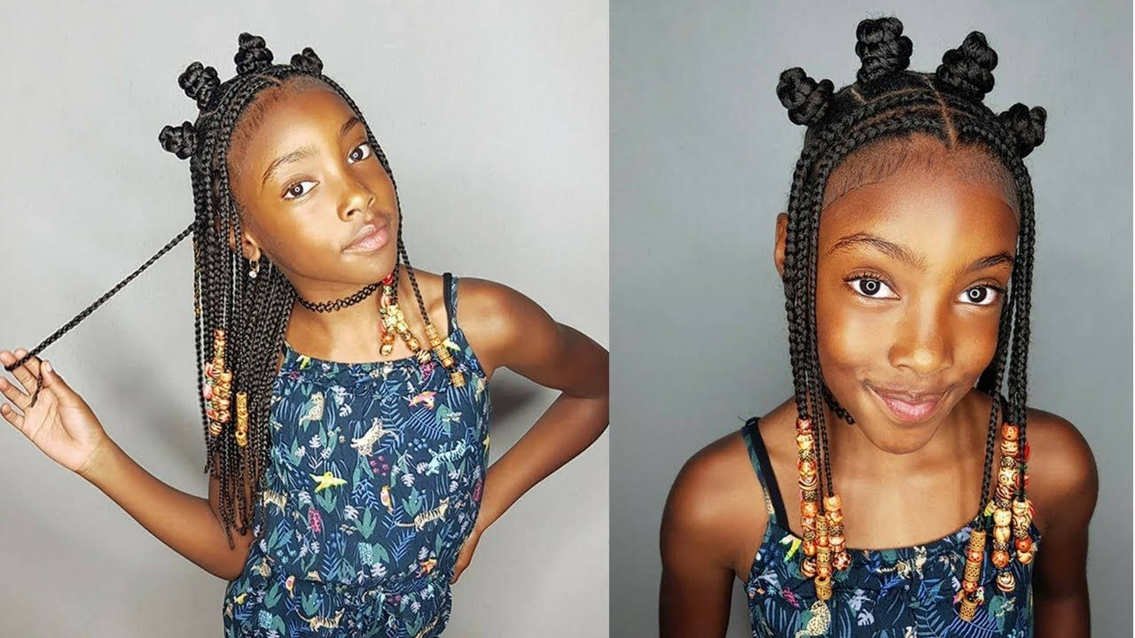 Widely Used Braided Crown Rose Hairstyles With Bantu Crown And Braids Protective Hairstyle For Girls (View 14 of 20)