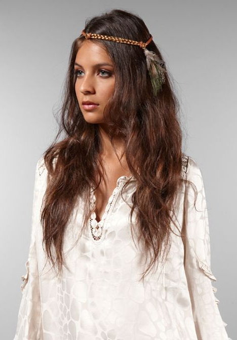 Widely Used Hippie Braid Headband Hairstyles Intended For Revolution (View 11 of 20)