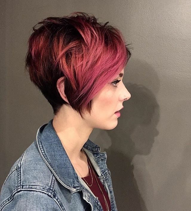 10 Long Pixie Haircuts For Women Wanting A Fresh Image Pertaining To Sexy Long Pixie Hairstyles With Babylights (View 12 of 20)