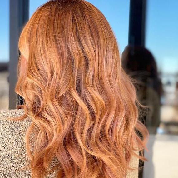 10 Strawberry Blonde Hair Ideas & Formulas | Wella Regarding Strawberry Blonde Balayage Hairstyles (View 12 of 20)