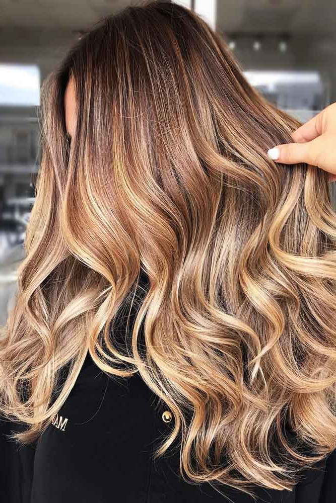 100 Balayage Hair Ideas: From Natural To Dramatic Colors Throughout Brown Blonde Balayage Hairstyles (View 8 of 20)