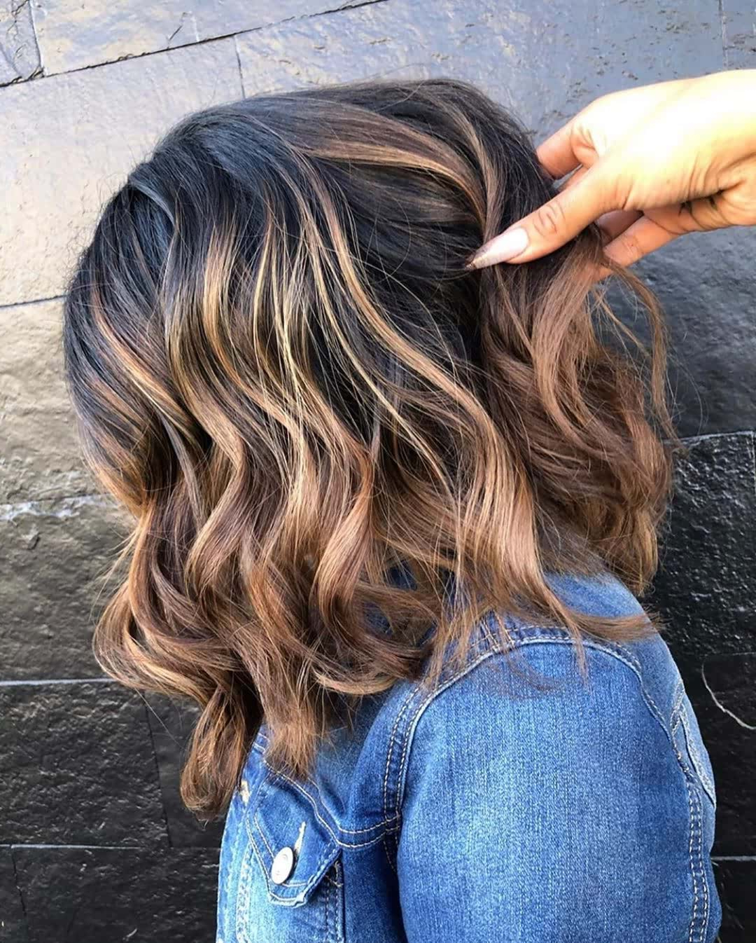 11 Fresh Hair Color Ideas 2020 – Bob Hair Color Trends Intended For Half Bob Half Pixie Hairstyles With Cool Blonde Balayage (View 16 of 20)