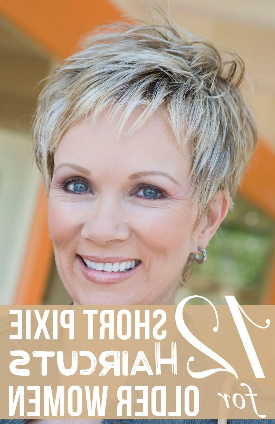 12 Short Pixie Haircuts For Older Women (View 12 of 20)