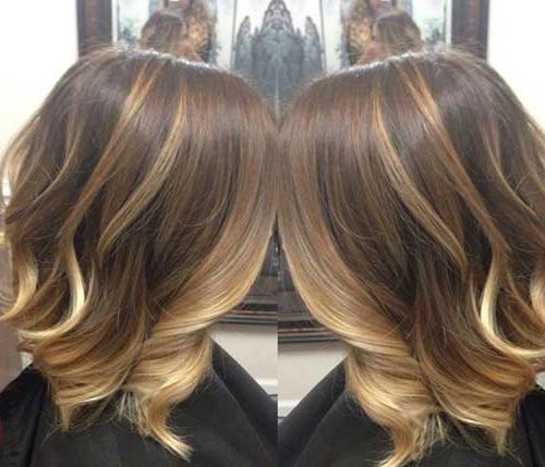 15 Balayage Bob Haircuts   Bob Hairstyles 2018 – Short Throughout Blunt Cut Blonde Balayage Bob Hairstyles (View 12 of 20)