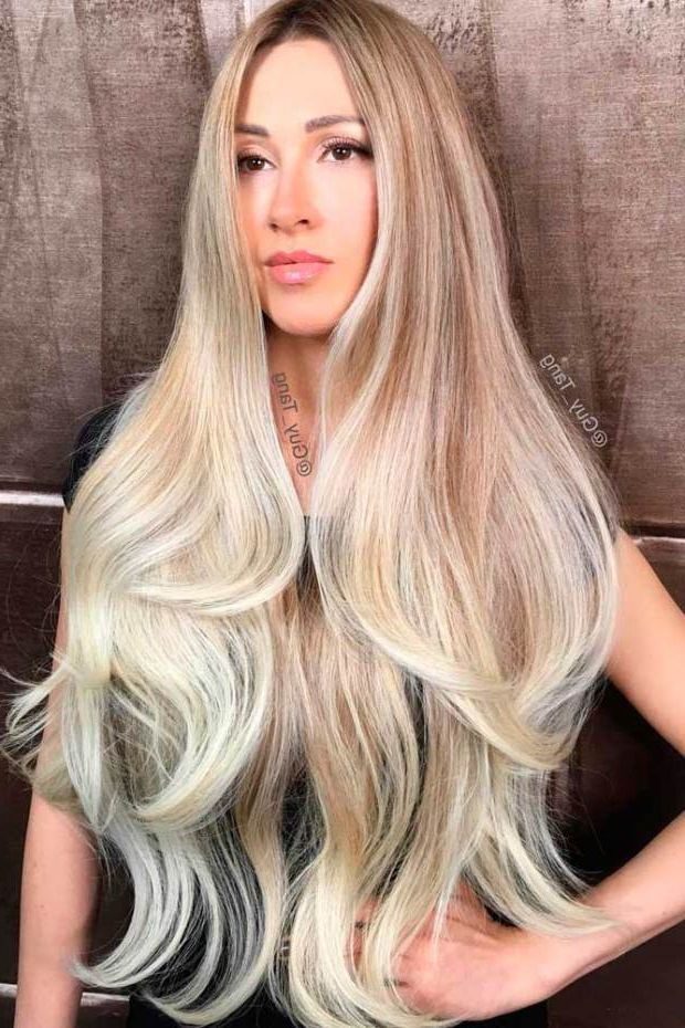 15 Blonde Balayage Highlights To Try In 2019 – Hair Colour In Blonde Balayage Hairstyles (View 15 of 20)