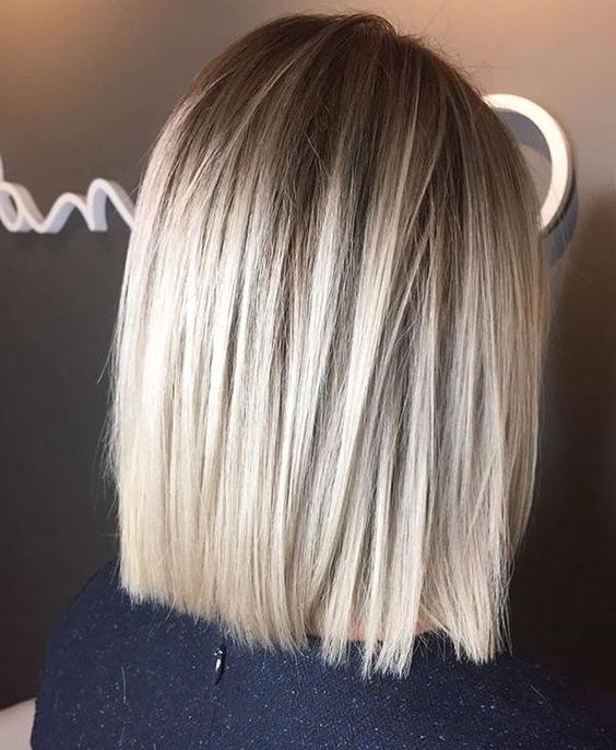 15 Chic Blonde Balayage Hair Ideas – Styleoholic Within Shaggy Bob Hairstyles With Blonde Balayage (View 13 of 20)