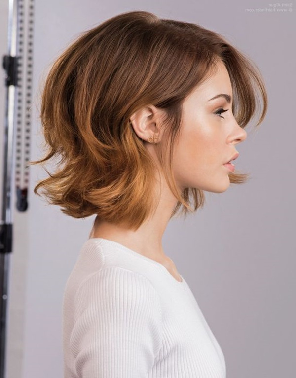 155 Cute Short Layered Haircuts (with Tutorial) Inside Preferred Flipped Out Bob Haircuts (View 7 of 20)