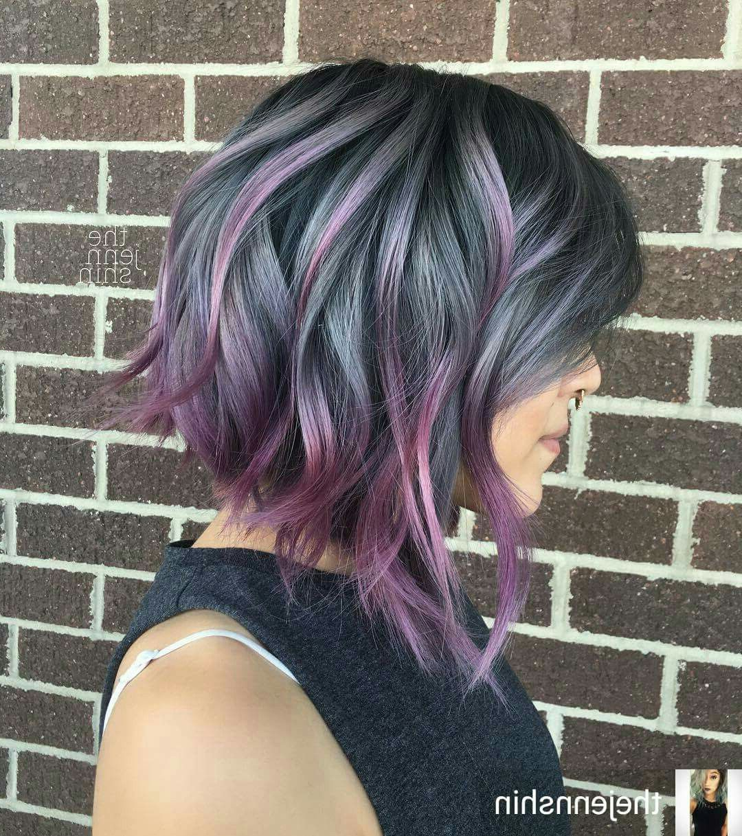 16+ Enthralling Ladies Hairstyles For Over 50 Ideas | Hair Regarding Lavender Balayage For Short A Line Haircuts (View 4 of 20)