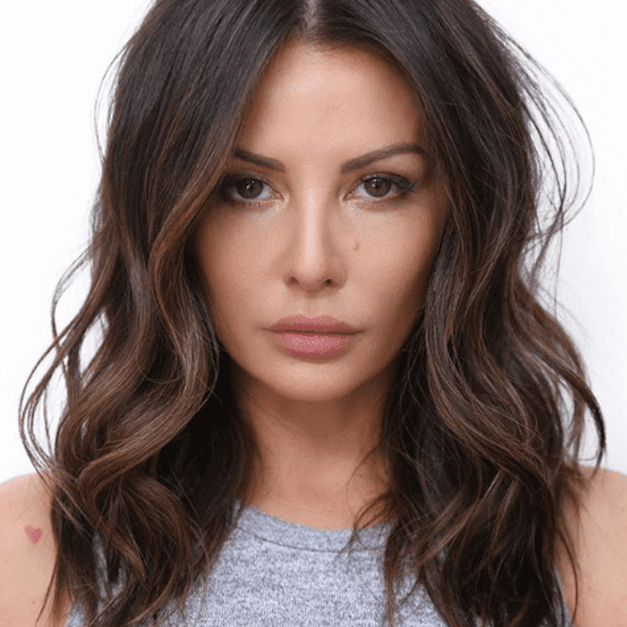 17 Photos Of Dark Brown Hair With Highlights Throughout Black Hairstyles With Brown Highlights (View 8 of 20)