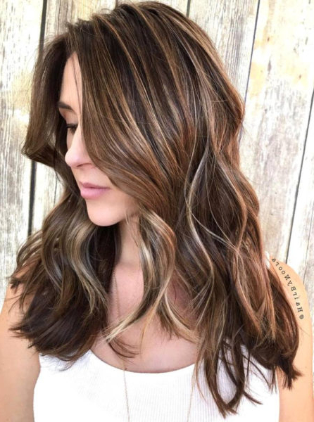18 Irresistible Honey Brown Hair Color Ideas For Iconic Beauty Throughout Short Brown Hairstyles With Subtle Highlights (View 16 of 20)