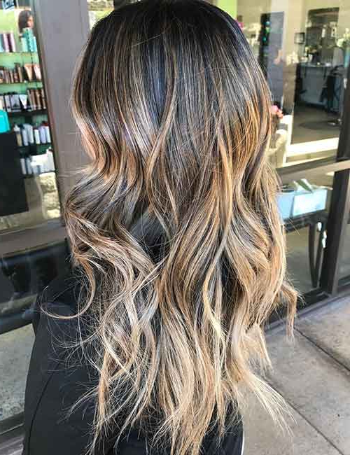 20 Beautiful Blonde Balayage Hair Looks Throughout Natural Looking Dark Blonde Balayage Hairstyles (View 9 of 20)