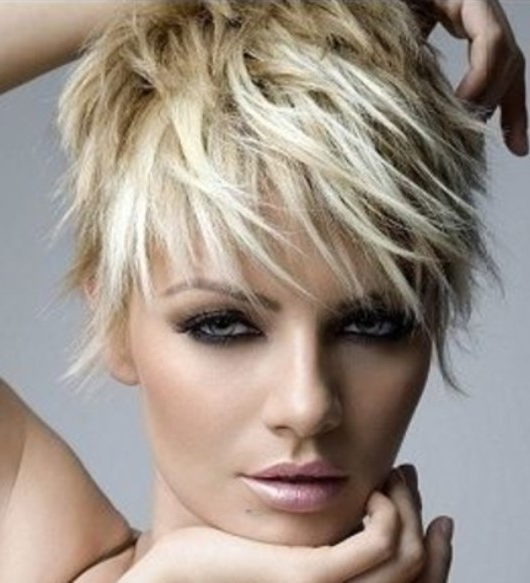 20 Bold Asymmetrical Pixie Cuts With Regard To 2018 Feminine Pixie Hairstyles With Asymmetrical Undercut (View 17 of 20)