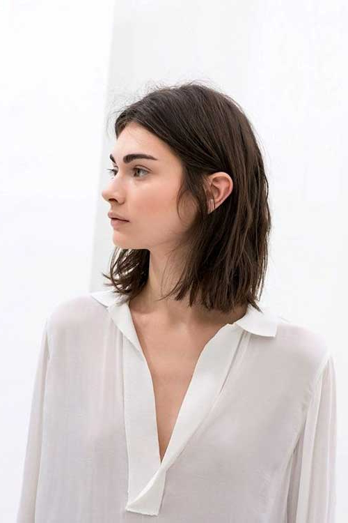 20 New Dark Brown Bob   Bob Hairstyles 2018 – Short Intended For Short Hairstyles With Delicious Brown Coloring (View 12 of 20)