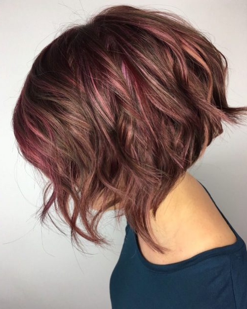 20 Popular Balayage Brown Hair Colors Of 2019 Within Short Brown Hairstyles With Subtle Highlights (View 18 of 20)