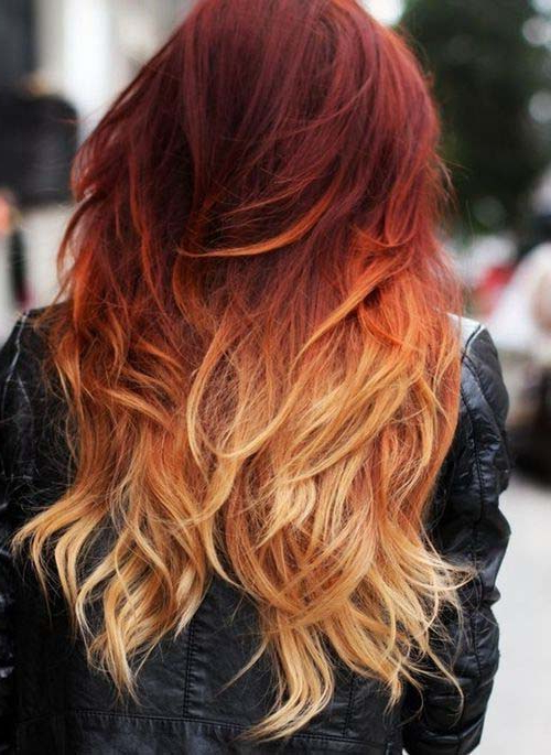 20 Shades Of Strawberry Blonde Haircolor Within Marsala To Strawberry Blonde Ombre Hairstyles (View 14 of 20)