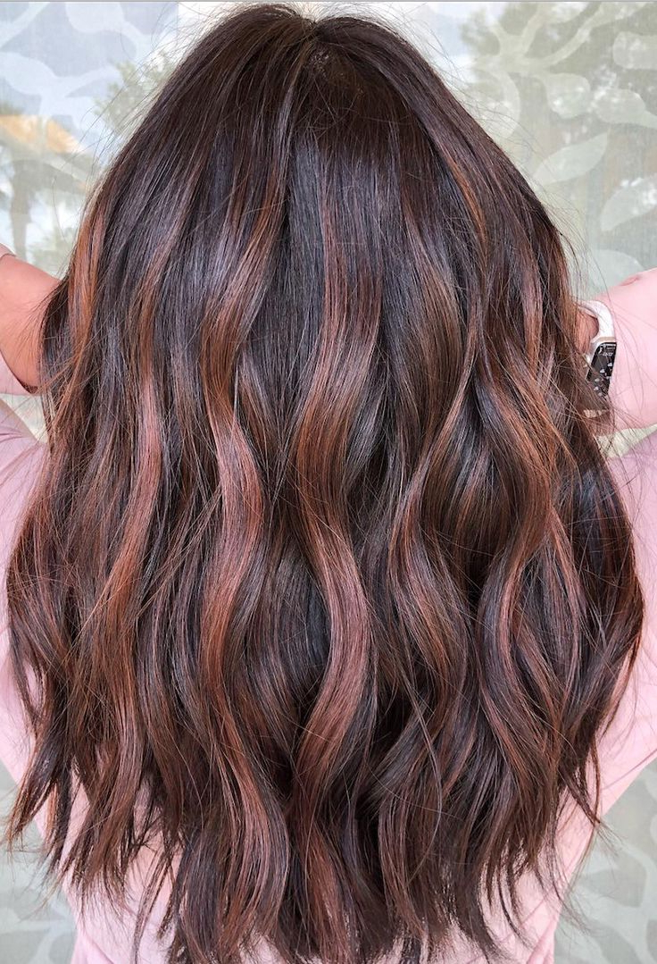 20 Stunning Examples Of Mushroom Brown Hair Color | Red With Regard To Natural Brown Hairstyles With Barely There Red Highlights (View 5 of 20)