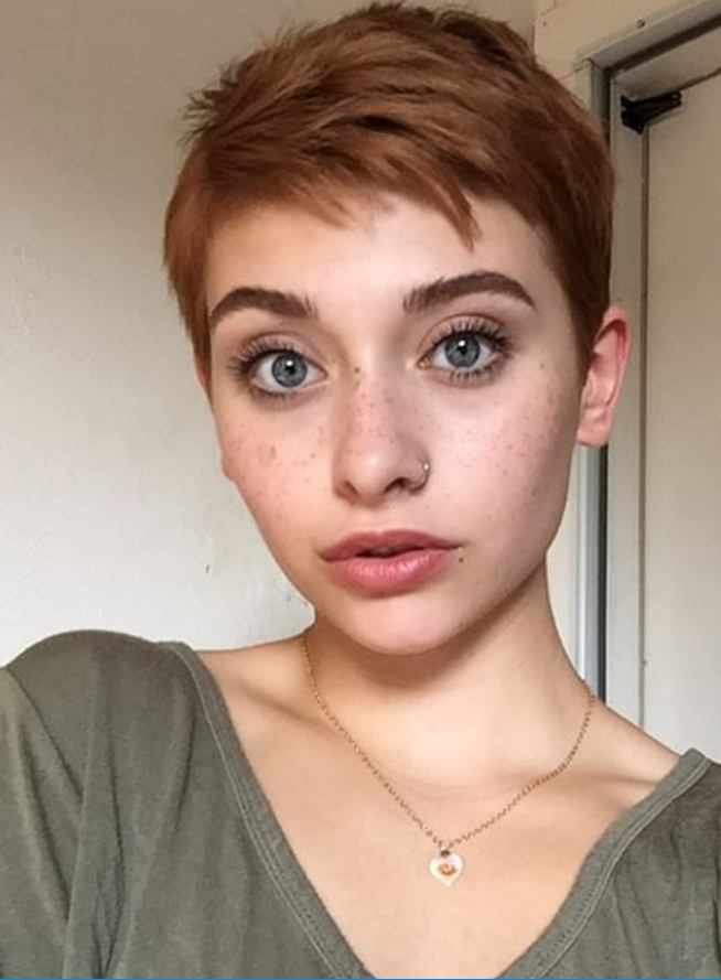 2017 Tousled Pixie Hairstyles With Super Short Undercut In #shorthair #haircuts #textured #haircut #stylish #modern # (View 15 of 20)