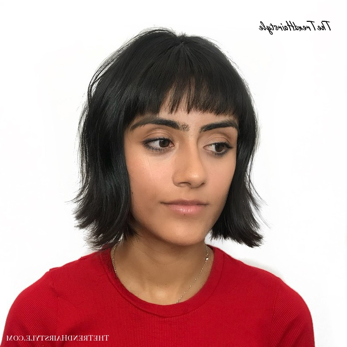 2018 Flipped Out Bob Haircuts Throughout Cropped Flipped Out Bob – 50 Classy Short Bob Haircuts And (View 13 of 20)