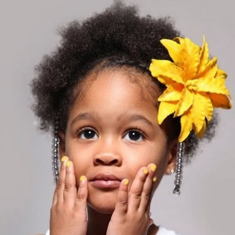 2018 Tiny Braids Hairstyles For Front Pieces In 64 Cool Braided Hairstyles For Little Black Girls – Page (View 14 of 20)
