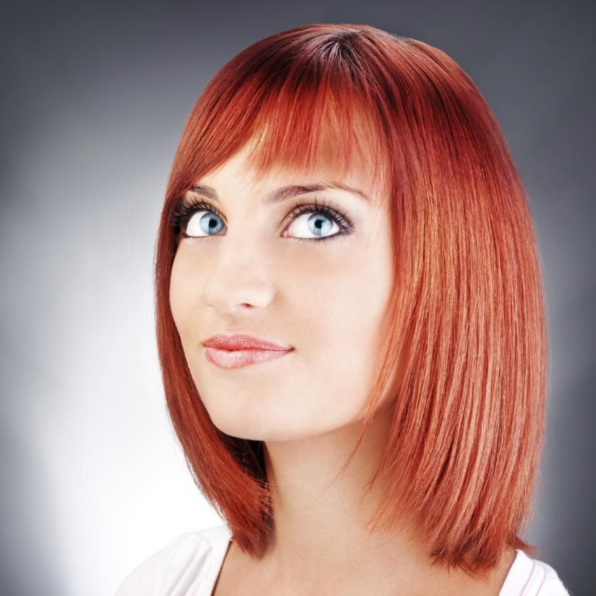 Featured Photo of Lob Hairstyles With A Face Framing Fringe