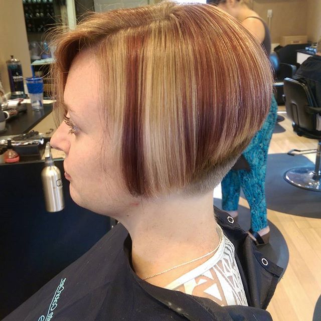 21 Gorgeous Stacked Bob Hairstyles – Popular Haircuts Inside Balayage For Short Stacked Bob Hairstyles (View 7 of 20)