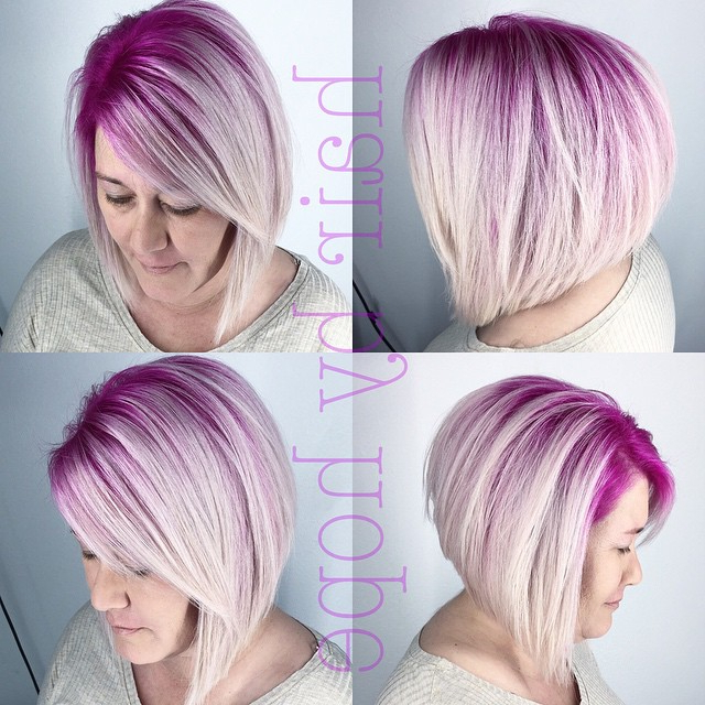 22 Cute & Classy Inverted Bob Hairstyles – Pretty Designs In Cool Toned Angled Bob Hairstyles (View 14 of 20)