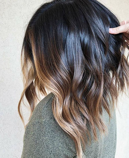 23 Amazing Short Ombre Hairstyles Regarding Short Brown Balayage Hairstyles (View 8 of 20)