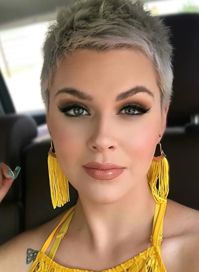 23 Best Short Pixie Haircut For Stylish Woman Hairstyle Throughout Latest Pixie Hairstyles With Sleek Undercut (View 15 of 20)