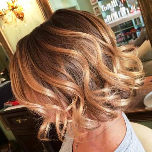 23 Groovy Ideas Of Balayage Short Hair To Give You Perfect For Blonde Balayage Hairstyles On Short Hair (View 16 of 20)