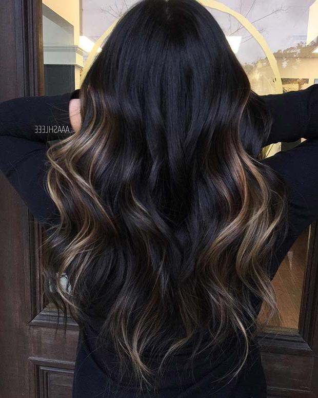 23 Unique Hair Color Ideas For 2018   Stayglam Intended For Natural Looking Dark Blonde Balayage Hairstyles (View 15 of 20)