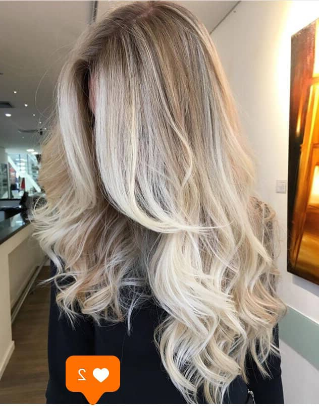 24 Bombshell Blonde Balayage Hairstyles That Are Cute And Easy Regarding Natural Looking Dark Blonde Balayage Hairstyles (View 14 of 20)