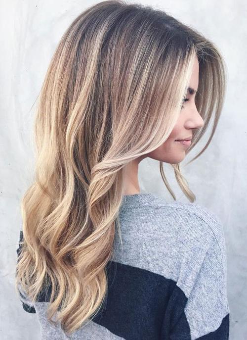 25 Balayage Hair Colors – Blonde, Brown And Caramel Throughout Brown Blonde Balayage Hairstyles (View 7 of 20)
