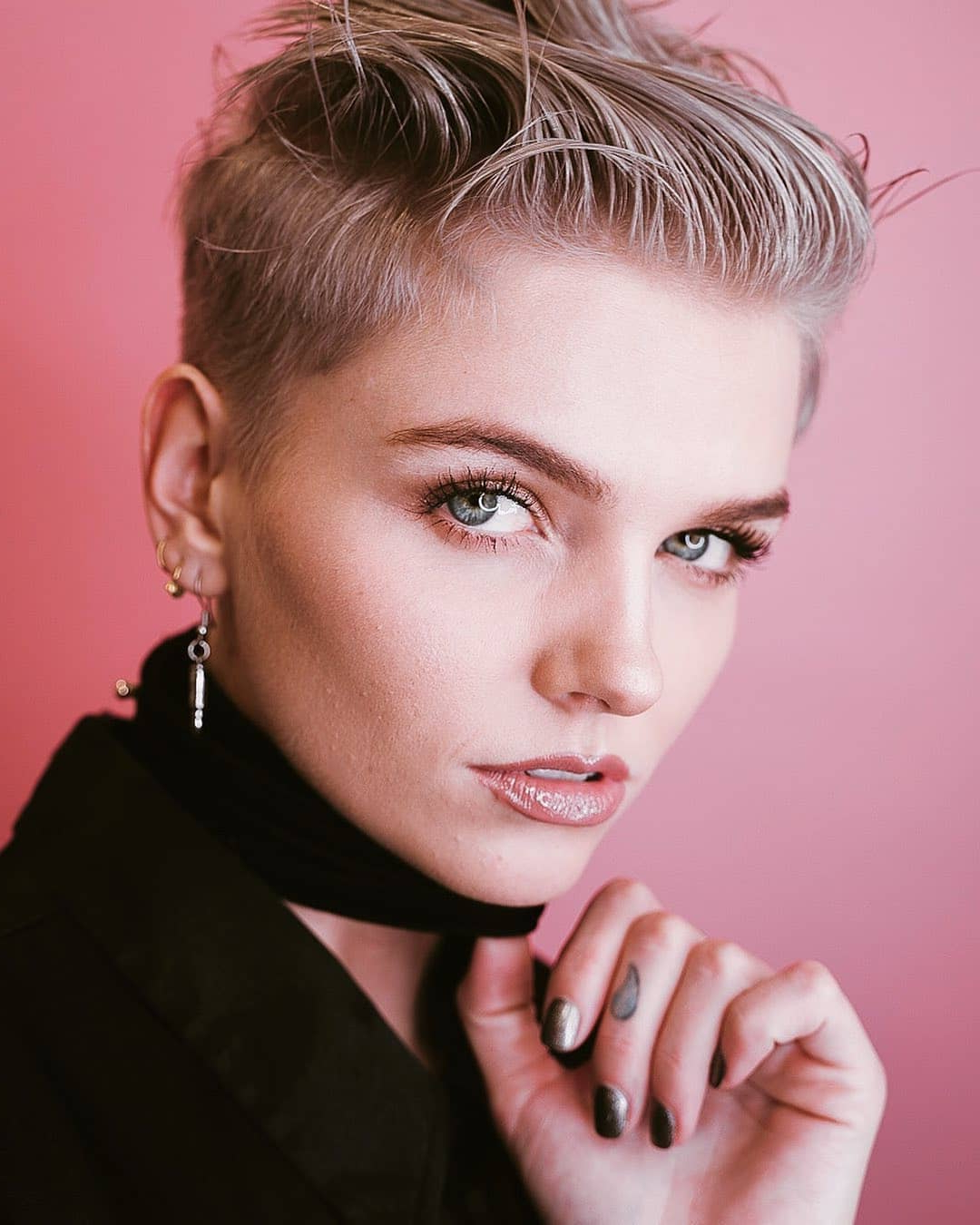 25 New Best Pixie Haircut Ideas For 2020 – Discover Beauty Intended For Most Recent Undercut Pixie Hairstyles With Hair Tattoo (View 2 of 20)