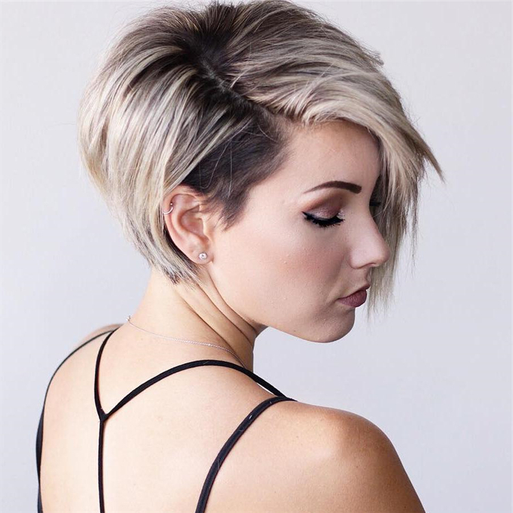 25+ Short Edgy Pixie Cuts And Hairstyles Intended For Widely Used Razor Cut Pink Pixie Hairstyles With Edgy Undercut (View 12 of 20)