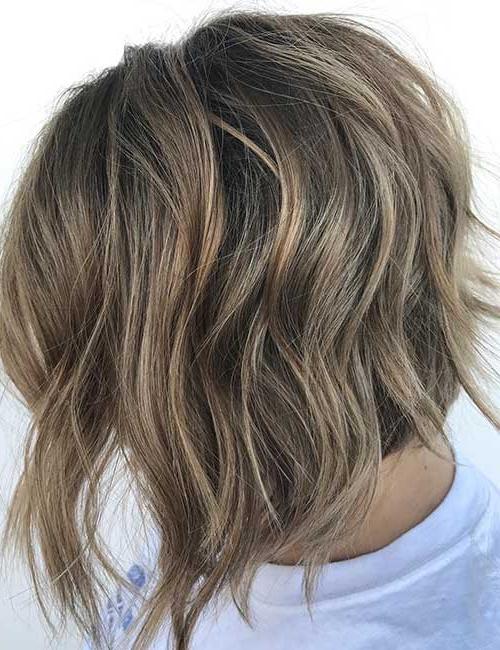 25 Trendy Balayage Looks For Short Hair Throughout Short Brown Balayage Hairstyles (View 5 of 20)