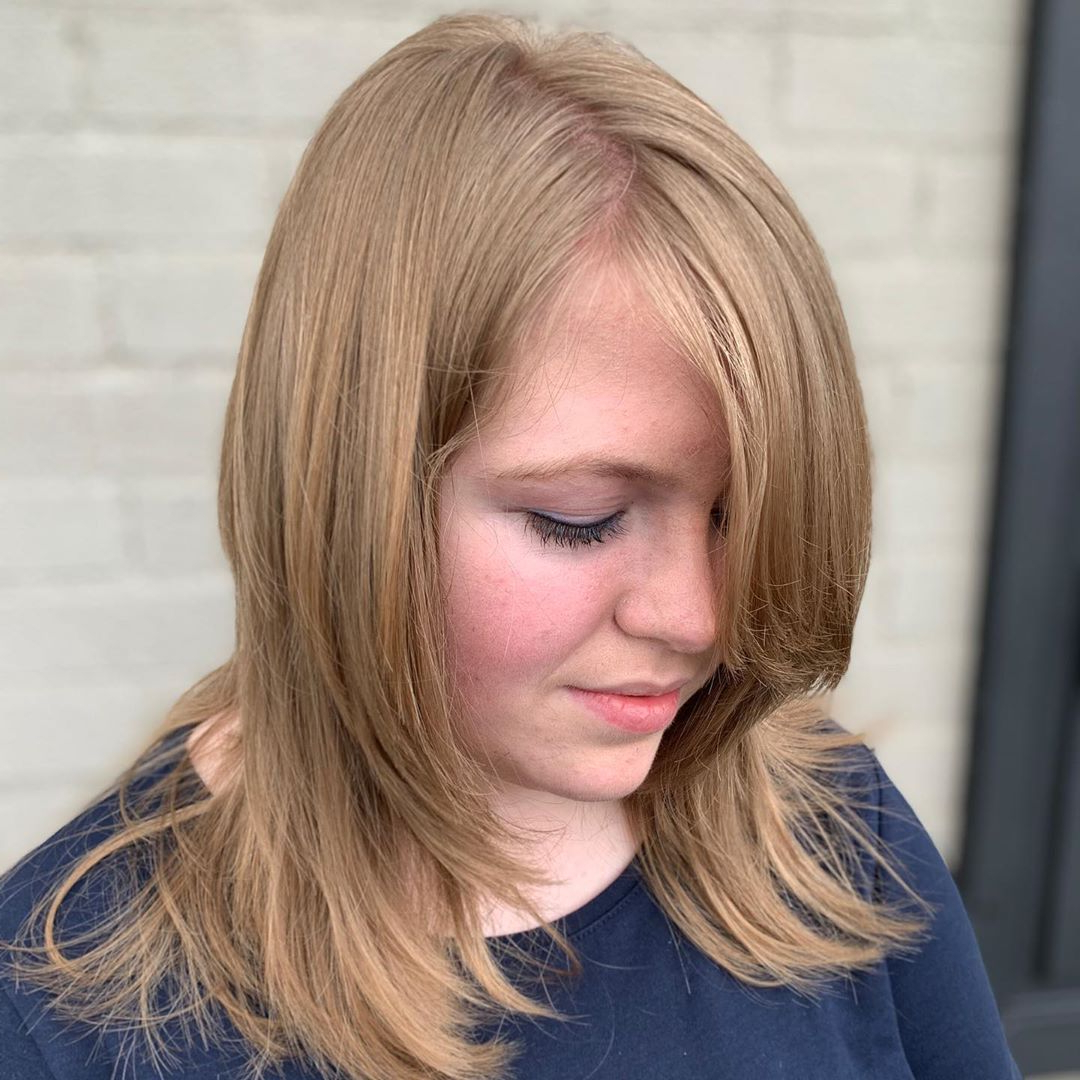 27 Flattering Haircuts With Choppy Layers Regarding Most Up To Date Subtle Face Framing Layers Hairstyles (View 7 of 20)