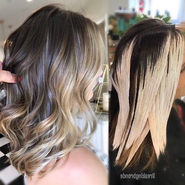 30 Best Balayage Hairstyles 2019 – Balayage Hair Color With Half Bob Half Pixie Hairstyles With Cool Blonde Balayage (View 9 of 20)