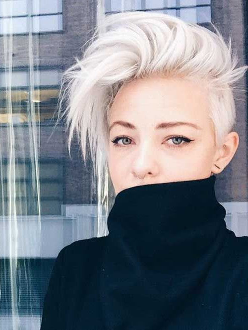 30 Perfect Pixie Haircuts For Chic Short Haired Women With Well Known Undercut Pixie Hairstyles With Hair Tattoo (View 9 of 20)