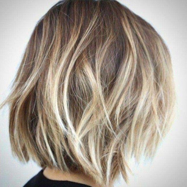30 Stunning Balayage Short Hairstyles 2018 – Hot Hair Regarding Ash Blonde Balayage For Short Stacked Bob Hairstyles (View 12 of 20)