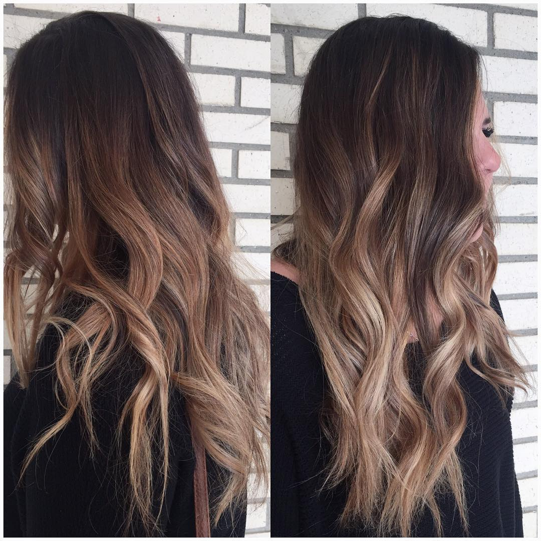 30 Times Brown Hair With Blonde Balayage Proved It's The With Brown Blonde Balayage Hairstyles (View 16 of 20)