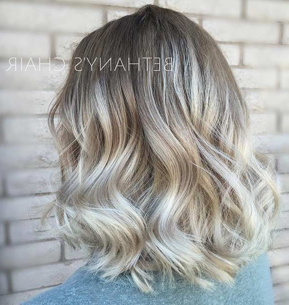 31 Cool Balayage Ideas For Short Hair | Page 3 Of 3 | Stayglam Inside Blonde Balayage Hairstyles On Short Hair (View 12 of 20)