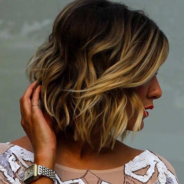 31 Cool Balayage Ideas For Short Hair | Stayglam Regarding Blonde Balayage Hairstyles On Short Hair (View 10 of 20)