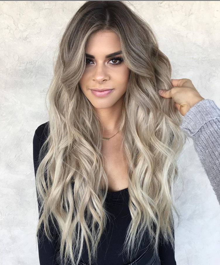 33 Hottest Blonde Balayage Highlights With Layers For Long Intended For Balayage Highlights For Long Bob Hairstyles (View 18 of 20)