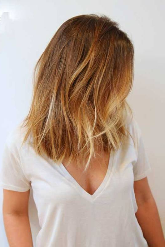 35 Best Balayage Highlights On Short Hair – Pictures With Short Bob Hairstyles With Balayage Ombre (View 11 of 20)