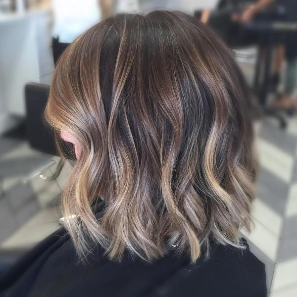 35 Best Balayage Highlights On Short Hair – Pictures With Short Brown Balayage Hairstyles (View 4 of 20)