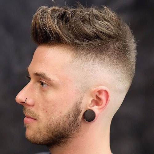 35 Best Men's Textured Haircuts (2021 Guide) Within Well Known Contrasting Undercuts With Textured Coif (View 12 of 20)