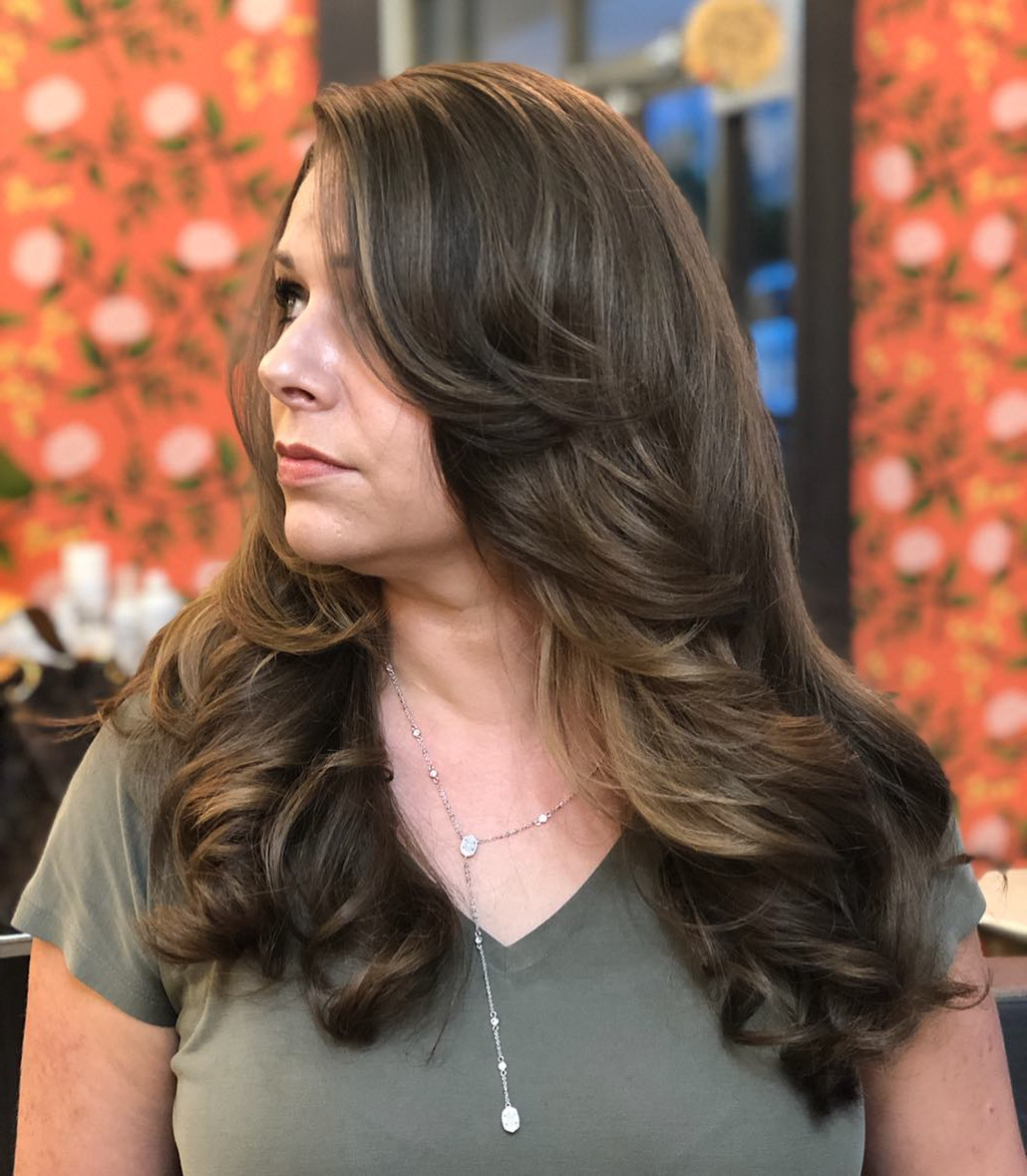 35 Instagram Popular Ways To Pull Off Long Hair With Bangs Pertaining To Famous Side Swept Face Framing Layers Hairstyles (View 5 of 20)