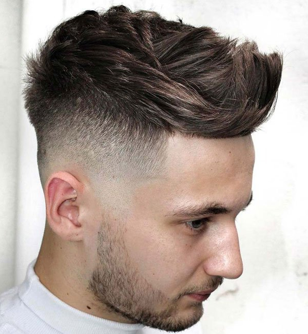35 Undercut Fade Haircuts + Hairstyles For Men (2020 Guide) Regarding Famous Contrasting Undercuts With Textured Coif (View 2 of 20)